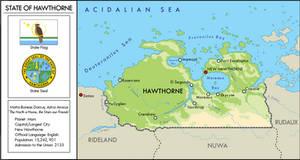 Hawthorne Map