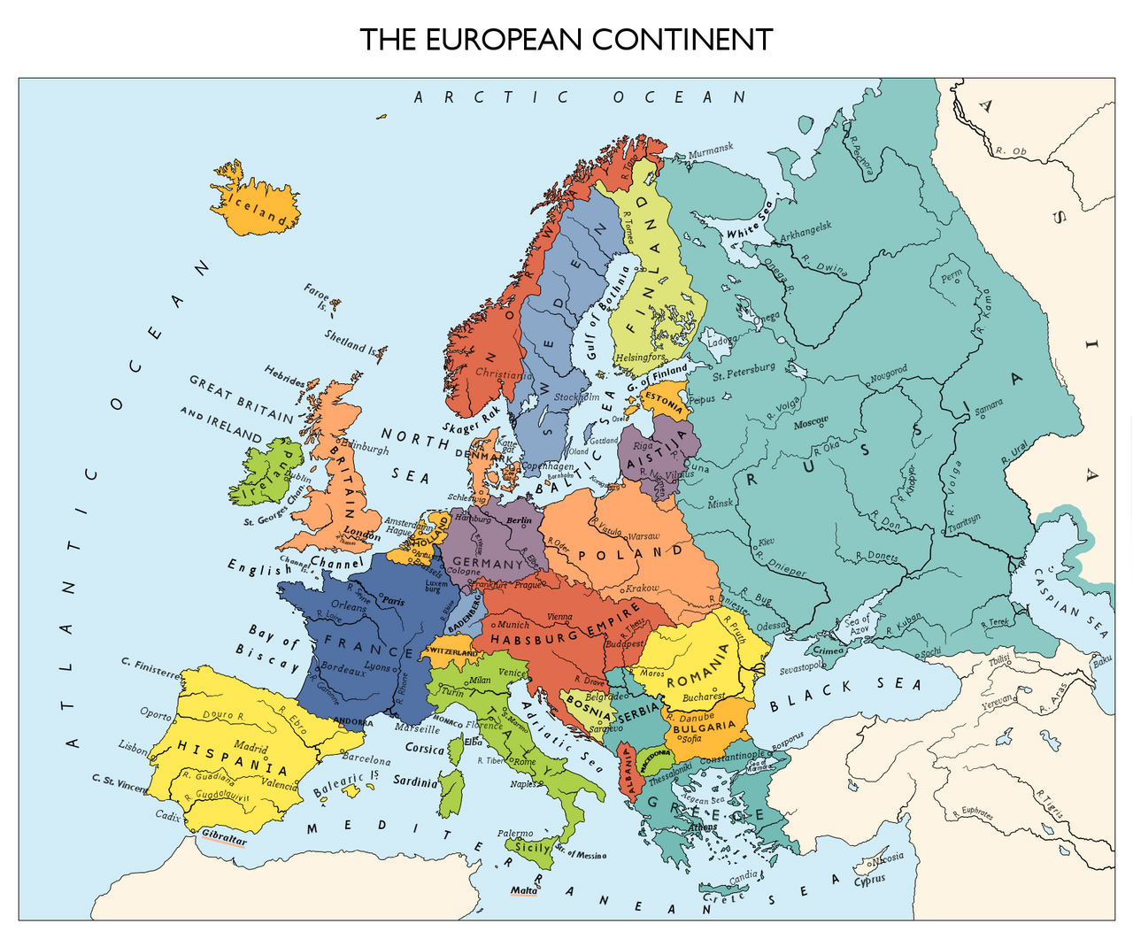 Commission Alternate Europe Map By Ynot1989 On Deviantart
