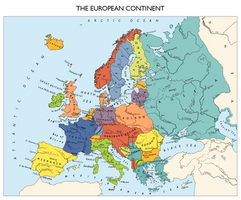 Commission: Alternate Europe Map