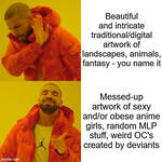 Daily Deviation Page in a nutshell