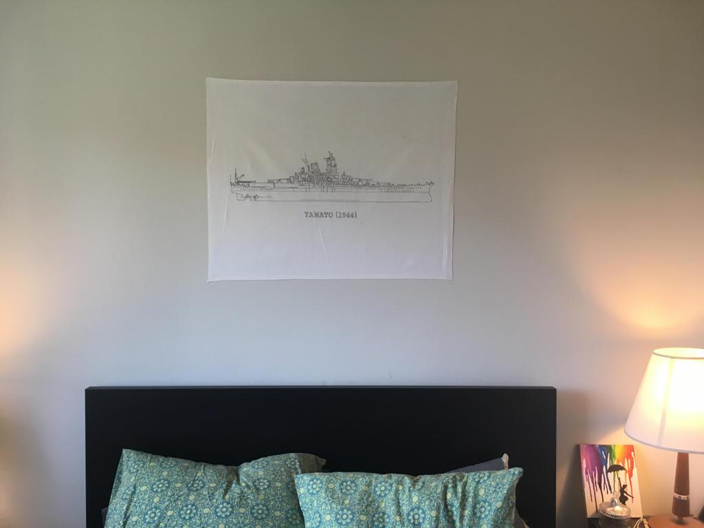 Yamato battleship canvas wall art ww2 blueprint by vanbannerworks on yamato battleship canvas wall art ww2 blueprint by vanbannerworks malvernweather Images