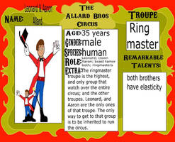 Twin Ringmasters of Different Size