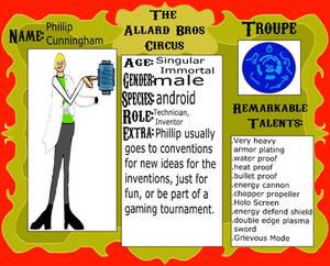 Phillip Cunningham Advance Technologist