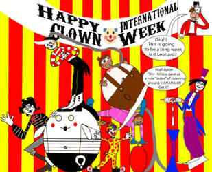 Clown Week at the Circus by Ruscole