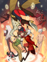 Gaia Artist Card Series by reapersun