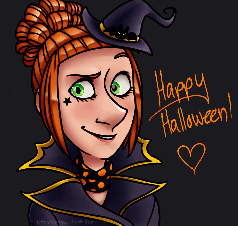 happy halloween by TitanCorpse