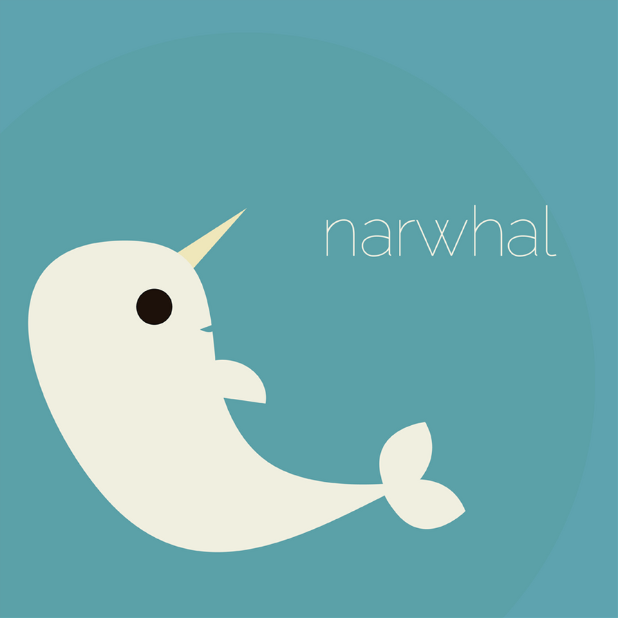 A happy narwhal by fizzybubblespop on deviantart - Cute narwhal wallpaper ...