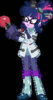 Twience by aqua-pony