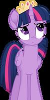 Twilight gets upset by aqua-pony