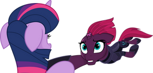 Twilight and Tempest by aqua-pony