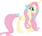 FlutterShy G5 - My little pony by aqua-pony