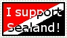 I Support Sealand Stamp by Emberpelt