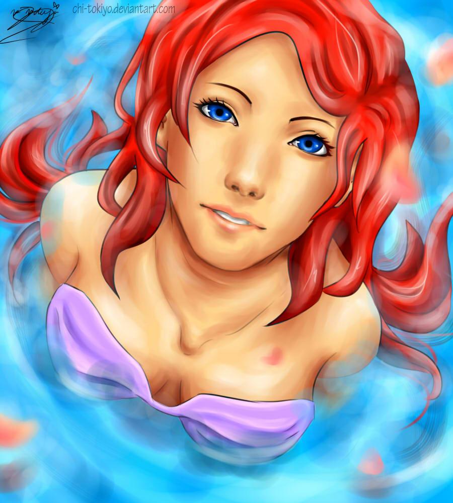 Uncategorized Pictures Of Ariel The Mermaid ariel the mermaid by chi tokiyo on deviantart tokiyo