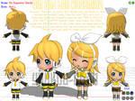MMD model- Rin and Len