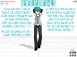 MMD model- Hatsune Mikuo