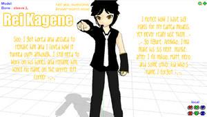 MMD model- Kagene Rei:Updated: