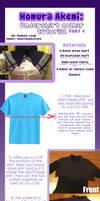 |Cosplay Tutorial|Homura: pt.1 Undershirt/collar|