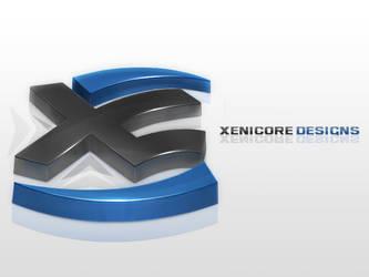 Xenicore.com logo by El3ment4l