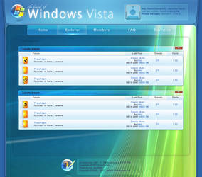 Vista Boards - A mokup theme