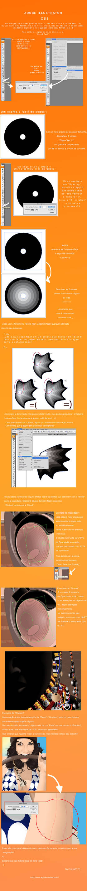 Tutorial Vector Art Blend Tool