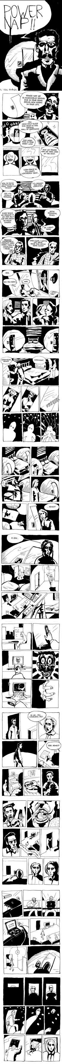 Power Nap - Speed comic by Dragonbaze