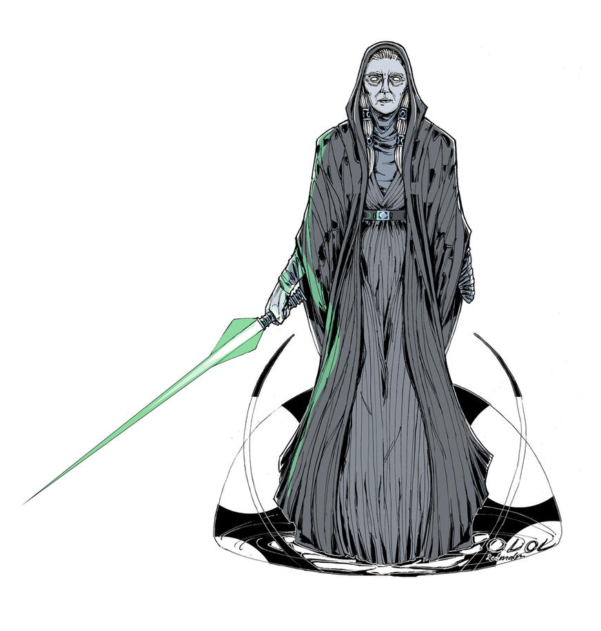 Sith and Jedi no. 3: Kreia the Gray by Dragonbaze