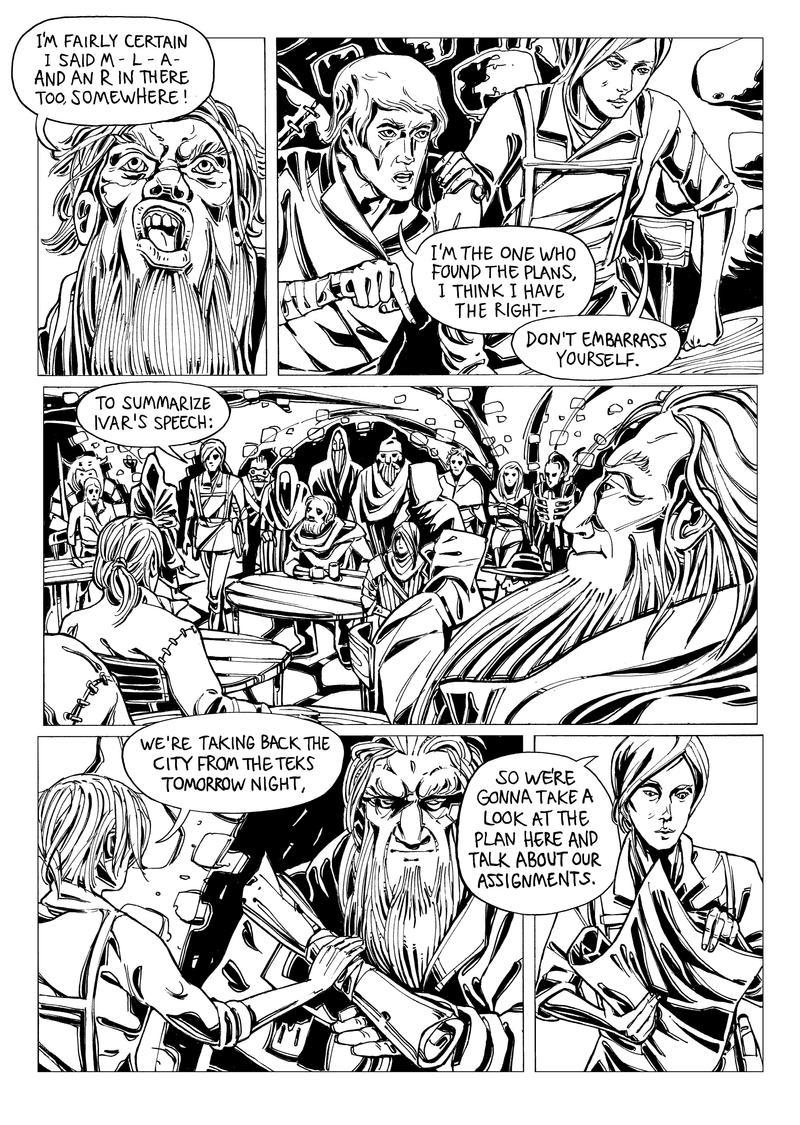 Wayfar - Chapter 3: Home Sweet Plan, page 7