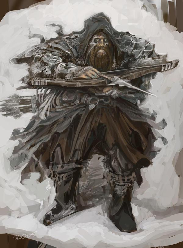 Koom the postman and hobbyist bounty hunter