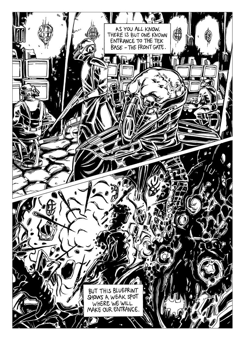Wayfar - Chapter 3: Home Sweet Plan, page 8