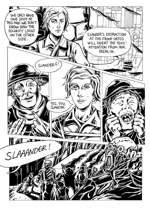 Wayfar - Chapter 3: Home Sweet Plan, page 9