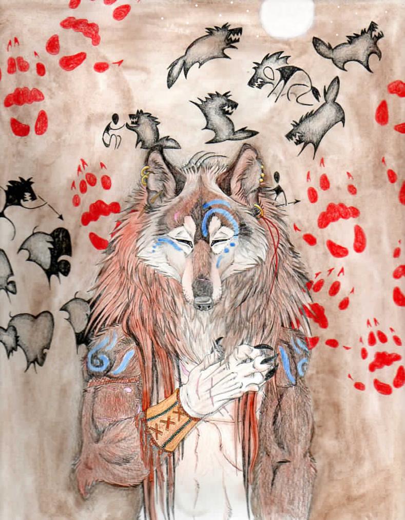 Werewolf at Heart by RedWolfmoon