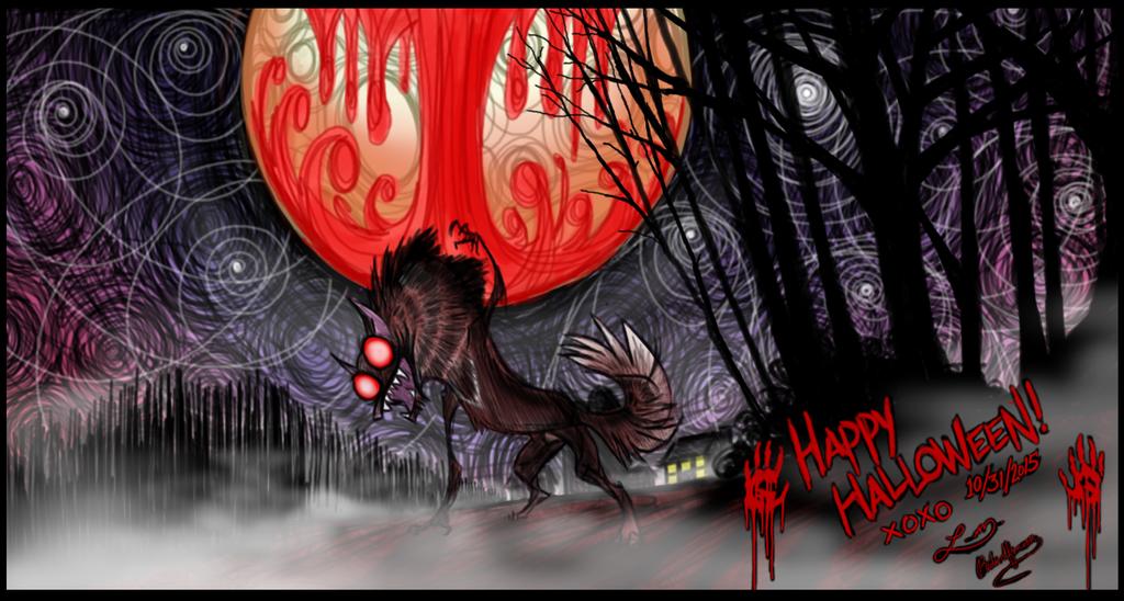 Happy Hallow'een by RedWolfmoon