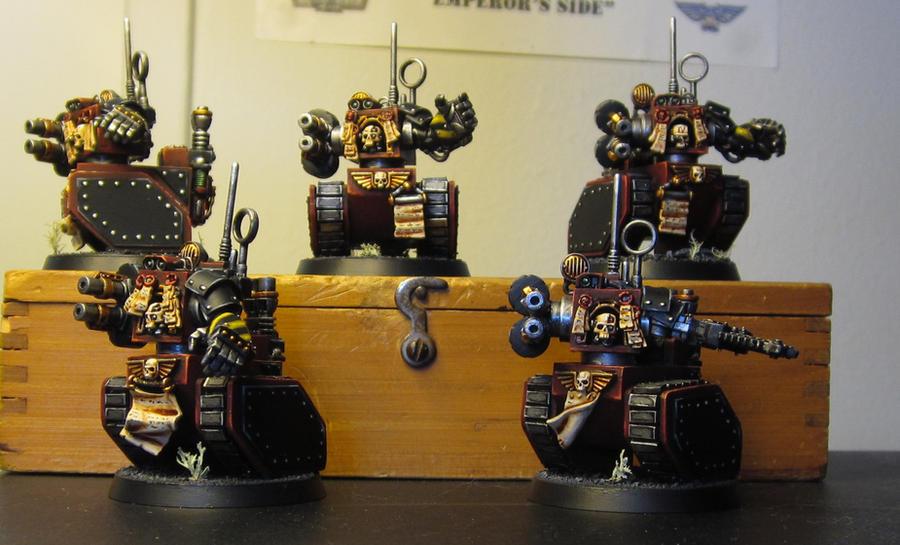 Legio Cybernetica Robot Manipule by ROBOPOPE