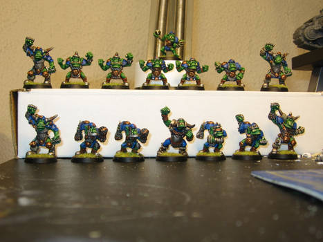 Blood Bowl Orcs Front