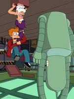 Upside Down Universe by FuturamaFreak1