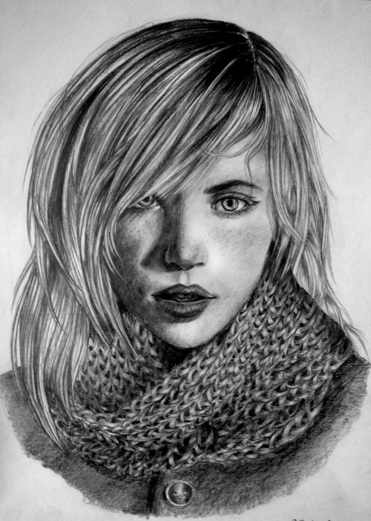 Girl by Nheori