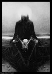 Death- following Zdzislaw Beksinski by Nheori