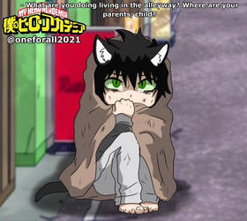 [ BNHA OC ] Kuro's Backstory