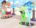 Busty Beach Babes