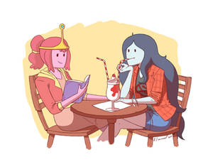Bubbline: Glad we are not fighting anymore