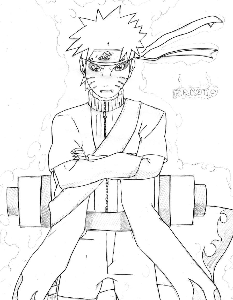 Excepcional Libro De Colorear Naruto Composición - Dibujos Para ...