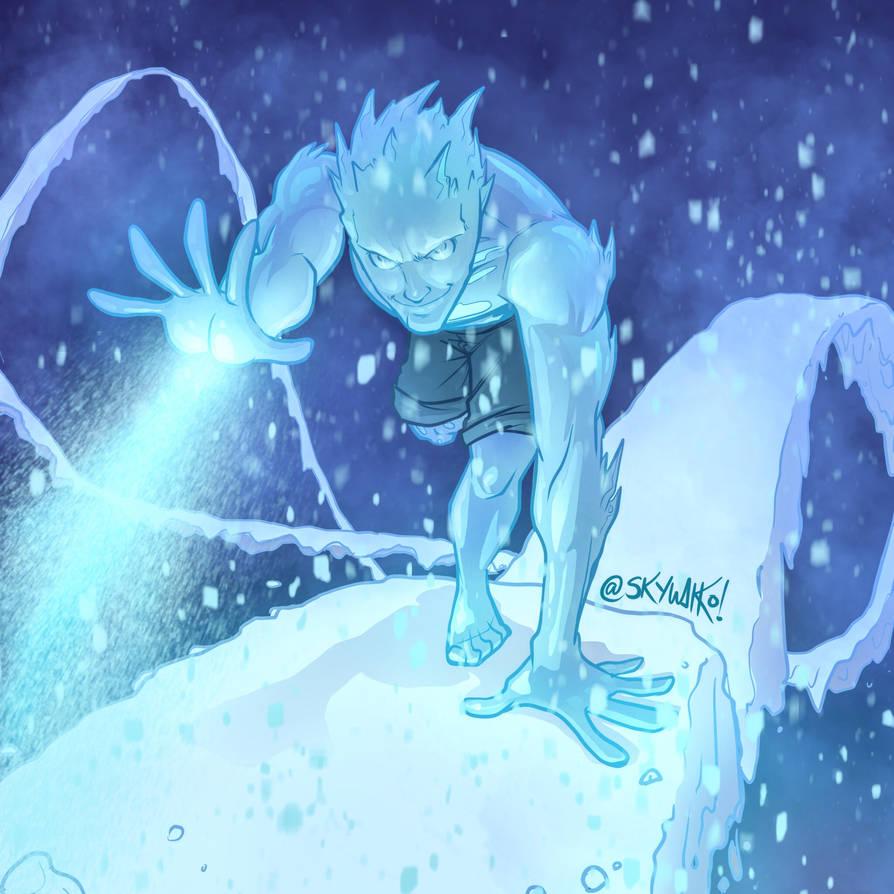 Iceman by skywakko