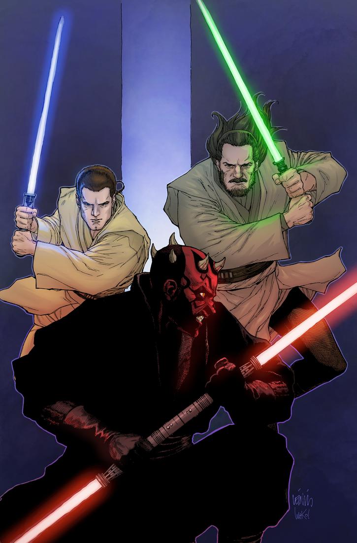 Jedi Color Practice by skywakko