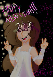 HAPPY NEW YEAR! by Dork-with-wings