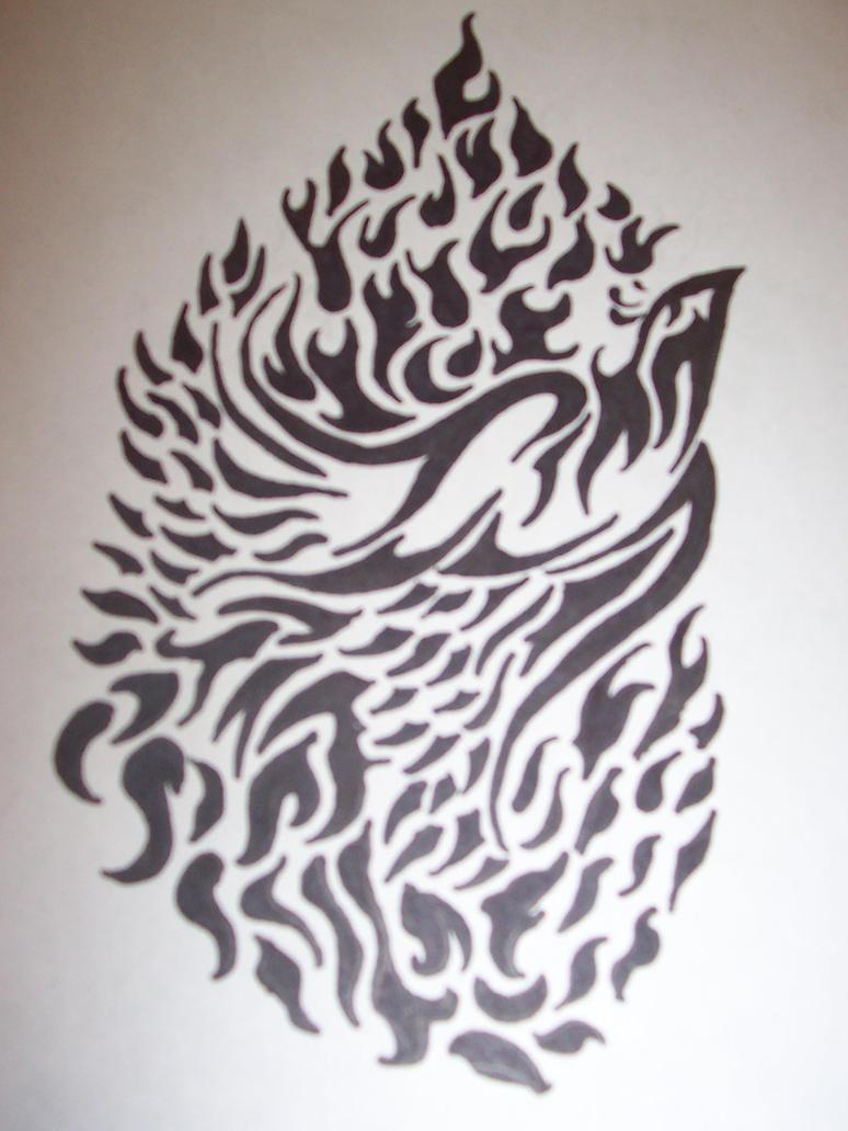 tribal phoenix tattoo blogspot com