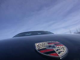 Black Porsche 911 Badge by absolutzombie