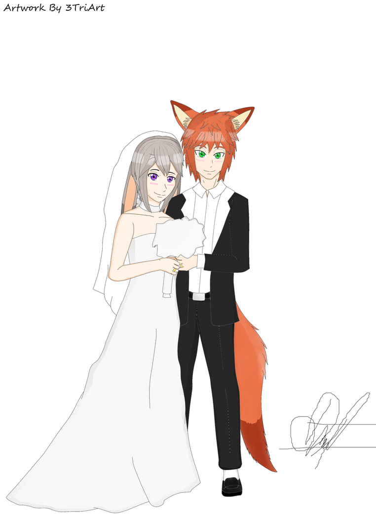 Nick and Judy Wedding Theme (Digital) [Anime] by 3TriArt on DeviantArt