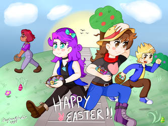 Stardew Valley Easter 2017 by iKeychain