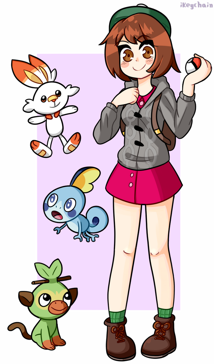 Pokemon Sword And Shield By Ikeychain On Deviantart