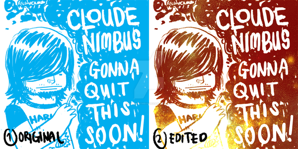 Cloude Nimbus Smoking. by nimbusnymbus